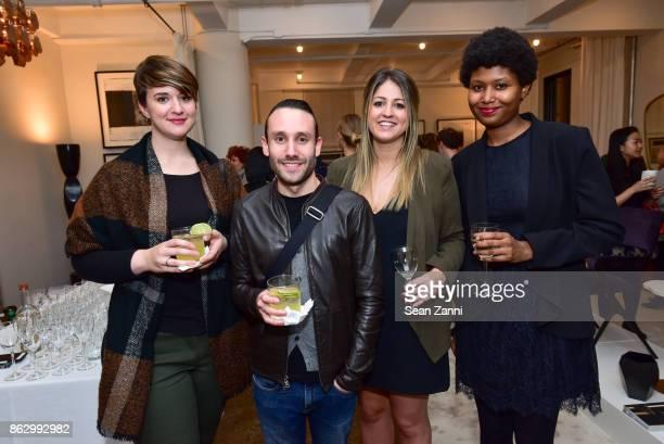Arianna Winston Alexander Chiarella Kristin Visser and Zhane Butts attend Tom Faulkner at Angela Brown Ltd on October 18 2017 in New York City