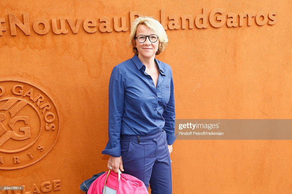 Arianne Massenet attends the French Tennis Open Day Five at Roland Garros on May 26, 2016 in Paris, France.