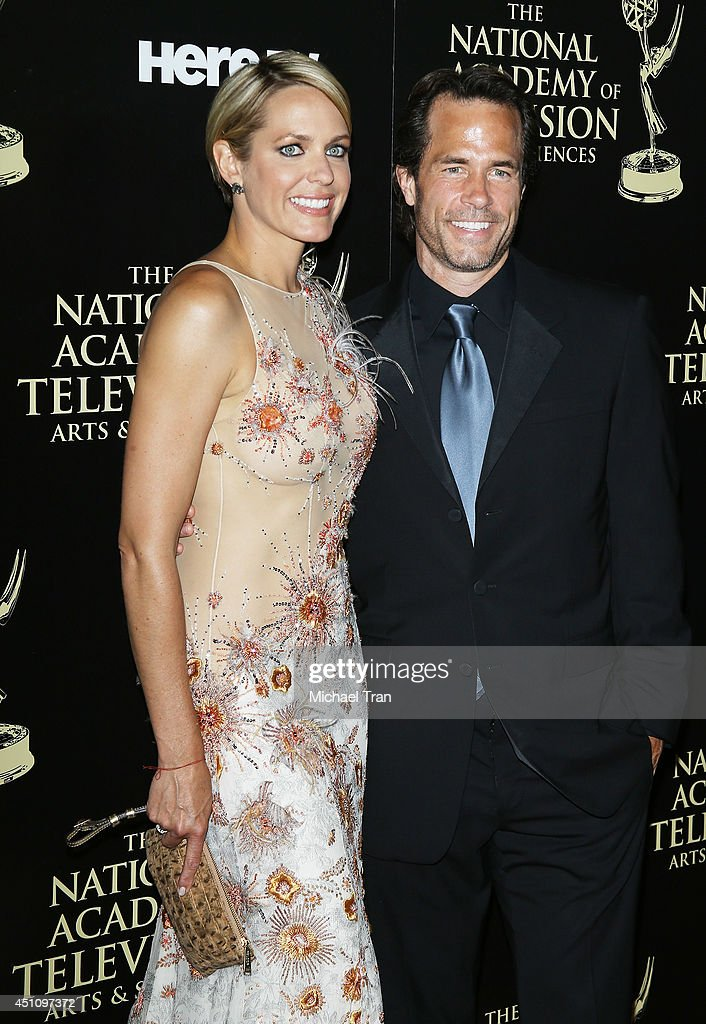 Arianne Zucker and Shawn Christian arrive at the 41st Annual Daytime Emmy Awards held at The Beverly Hilton Hotel on June 22 2014 in Beverly Hills...