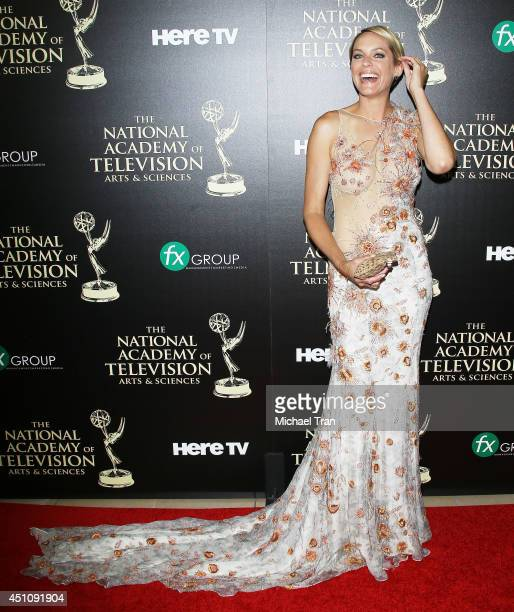 Arianne Zucker arrives at the 41st Annual Daytime Emmy Awards held at The Beverly Hilton Hotel on June 22 2014 in Beverly Hills California