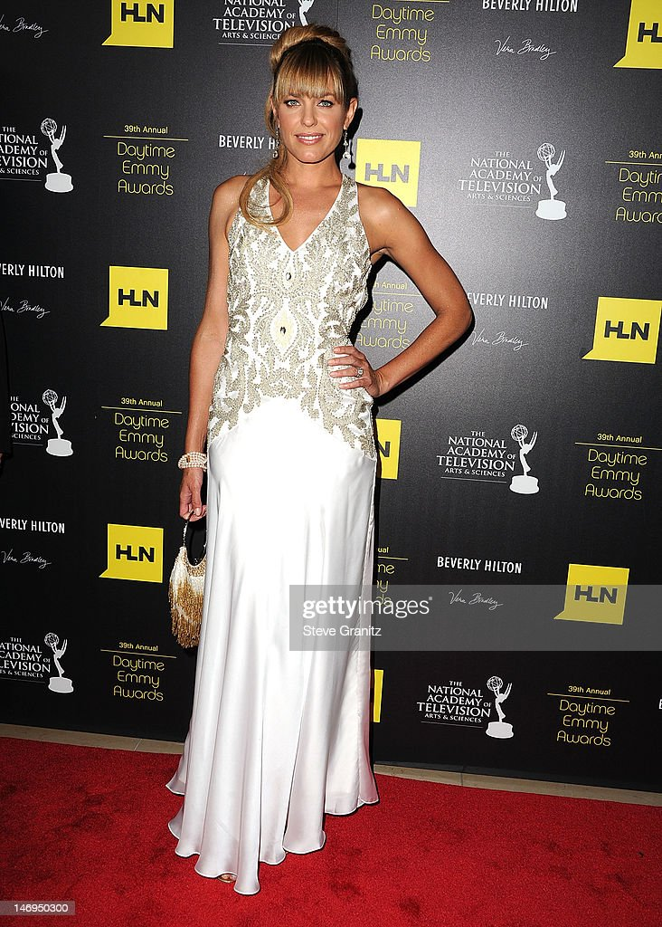 Arianne Zucker attends 39th Annual Daytime Emmy Awards at The Beverly Hilton Hotel on June 23, 2012 in Beverly Hills, California.