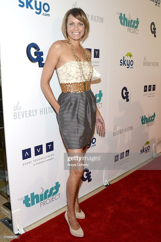 Arianne Zucker attends the 4th Annual Thirst Gala at The Beverly Hilton Hotel on June 25, 2013 in Beverly Hills, California.