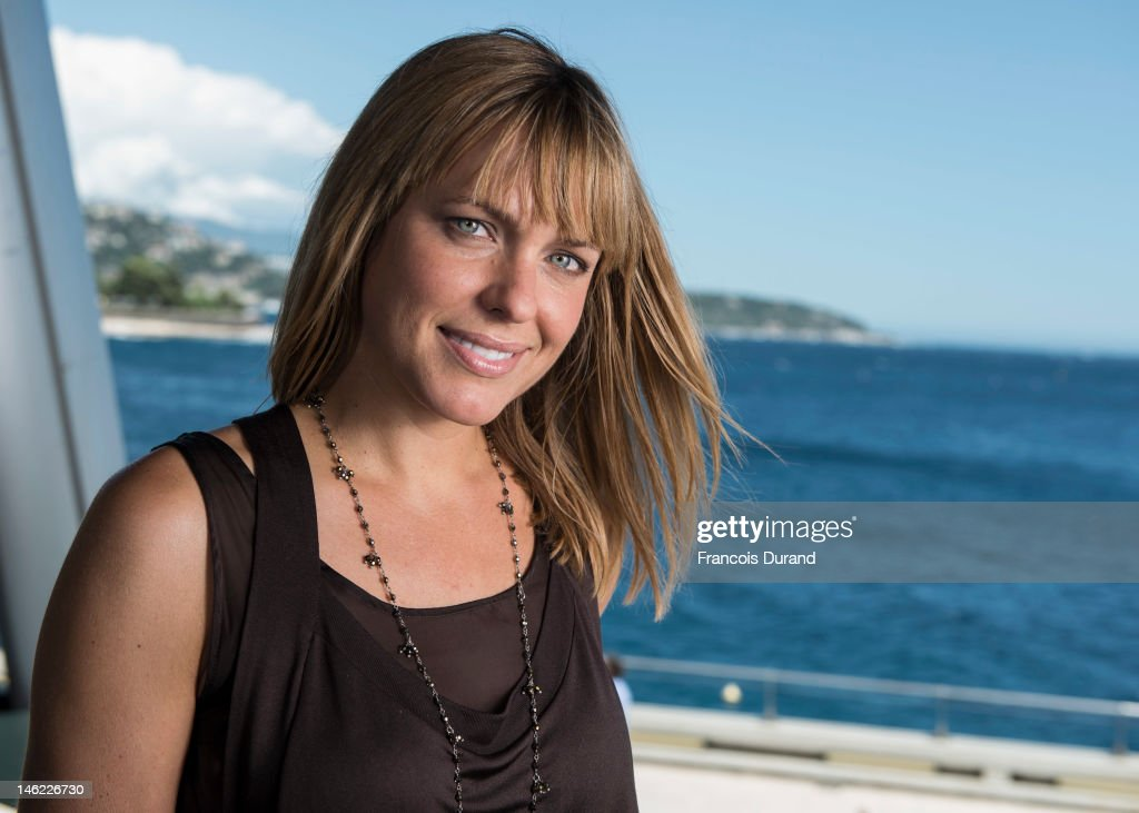 Arianne Zucker poses for a portrait session during the 52nd Monte Carlo TV Festival on June 12, 2012 in Monaco, Monaco.