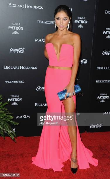 Arianny Celeste arrives at the MAXIM Hot 100 Celebration Event at Pacific Design Center on June 10 2014 in West Hollywood California