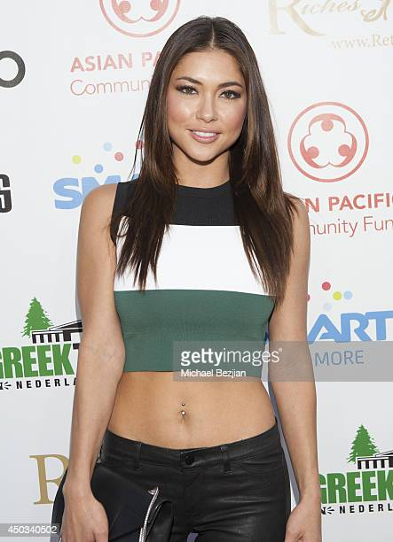Arianny Celeste attends Apldeap Foundation Presents REBUILD PHILIPPINES at The Greek Theatre on June 8 2014 in Los Angeles California