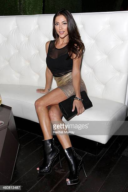 Arianny Celeste attends OK Magazine's So Sexy LA Event at LURE on May 21 2014 in Los Angeles California