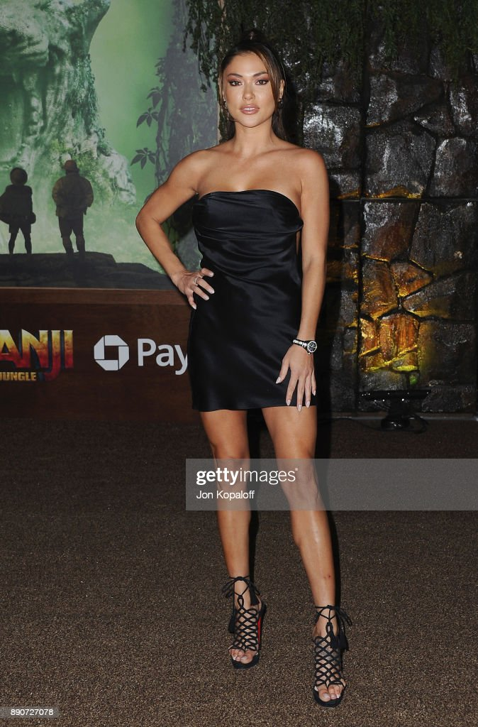 Arianny Celeste attends the Los Angeles Premiere 'Jumanji: Welcome To The Jungle' at the TCL Chinese Theatre on December 11, 2017 in Hollywood, California.