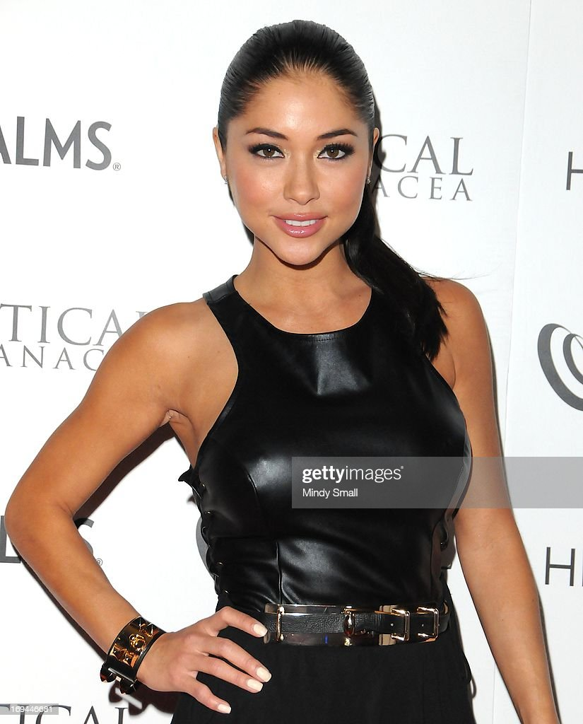 Arianny Celeste attends the Optical Panacea Launch Party at HERAEA at the Palms Casino Resort on May 24, 2013 in Las Vegas, Nevada.