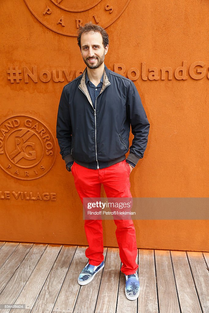 Arie Elmaleh attends the French Tennis Open Day Five at Roland Garros on May 26, 2016 in Paris, France.