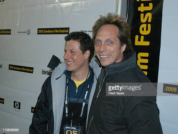 Arie Posin director of 'The Chumscrubber' and William Fichtner