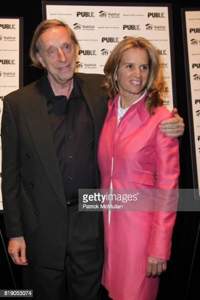 Ariel Dorfman and Kerry Kennedy attend THE PUBLIC THEATRE Presents a OneNightOnly Benefit Reading of SPEAK TRUTH TO POWER Voice Beyond the Dark at...