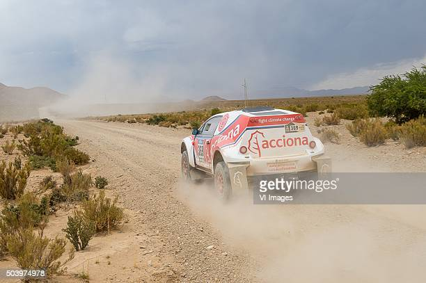 '369 Ariel Jaton Daniel Scazzuso Gaston ACCIONA 4WD Jaton'ArgentienArgentina'Dakar Press Team'DPTDPT2016'Getty Images'Jujuy'Marathon...
