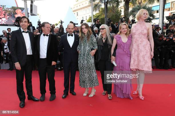Ariel Kleiman guest David Dencik Alice Engler Jane Campion Elisabeth Moss Gwendoline Christie of 'Top of the Lake China Girl' attend the 'The...