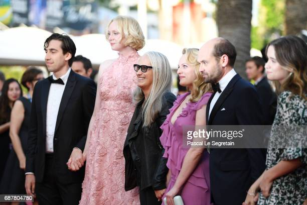 Ariel Kleiman Gwendoline Christie Jane Campion Elisabeth Moss David Dencik and Alice Englert of 'Top Of The Lake China Girl' attend the 'The...