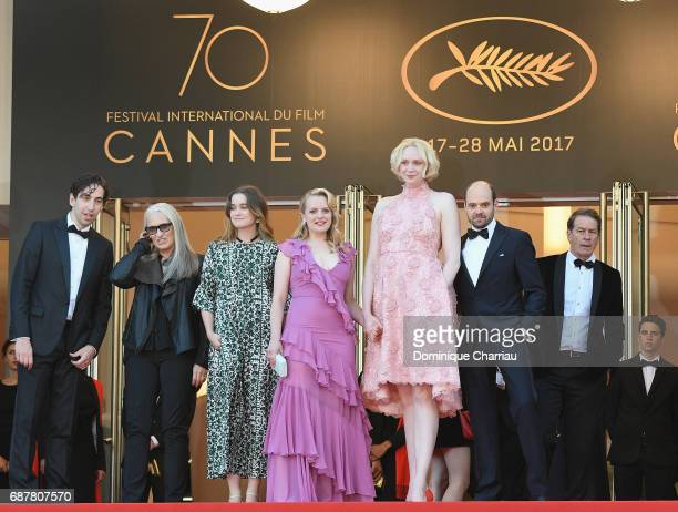 Ariel Kleiman Jane Campion Alice Engler Elisabeth Moss Gwendoline Christie David Dencik of 'Top of the Lake China Girl' attend the 'The Beguiled'...