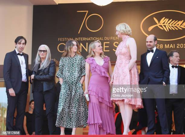 Ariel Kleiman Jane Campion Alice Engler Elisabeth Moss Gwendoline Christie and David Dencik of 'Top of the Lake China Girl' attend the 'The Beguiled'...