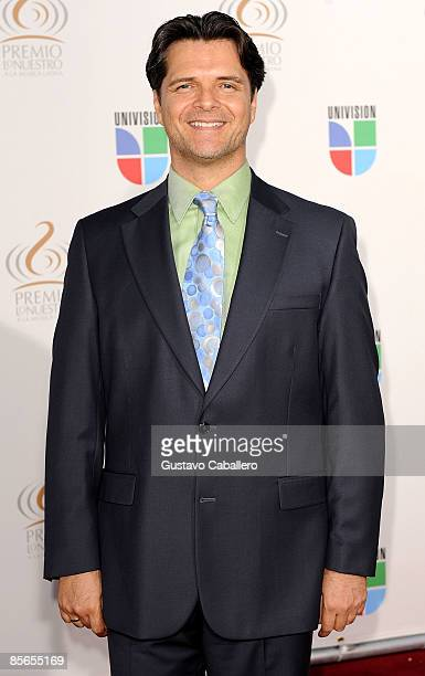 Ariel Lopez Padilla arrives at Univision's Premio Lo Nuestro a La Musica Latina Awards >> at Bank United Center on March 26 2009 in Coral Gables...