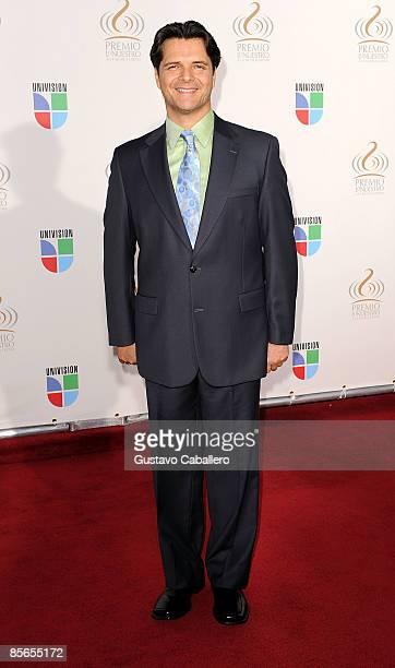 Ariel Lopez Padilla arrives at Univision's Premio Lo Nuestro a La Musica Latina Awards >> at Bank United Center on March 26 2009 in Coral Gables...