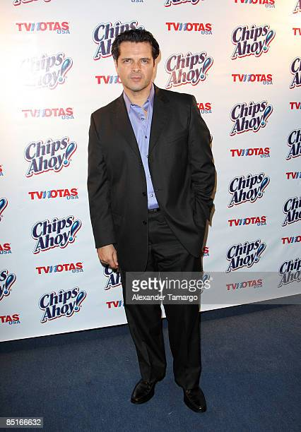 Ariel Lopez Padilla attends TV Notas USA 10th Anniversary Party at Nikki Beach on February 28 2009 in Miami Beach Florida