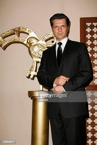 Ariel Lopez Padilla during the opening ceremony of the Second Chihuahua International Film Festival on August 20 2010 in Chihuahua Mexico
