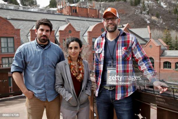 Ariel Reuven Rosenstein Gan De Lange and Kevin Byrnes attend the 2017 Aspen Shortsfest filmmakers breakout sessions on April 7 2017 at Mountain...