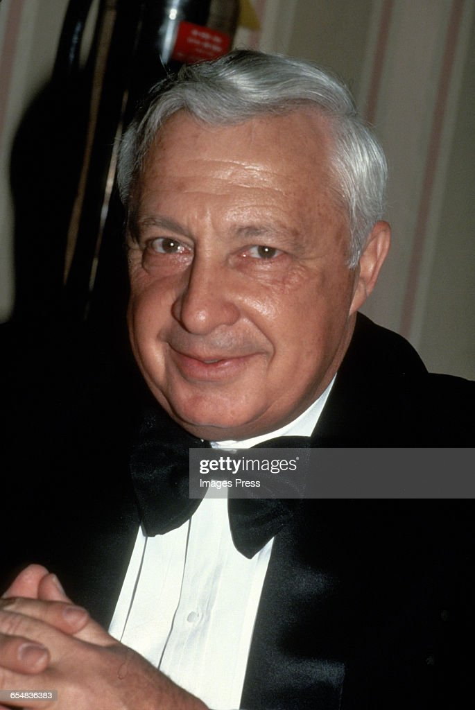 Ariel Sharon circa 1980s in New York City