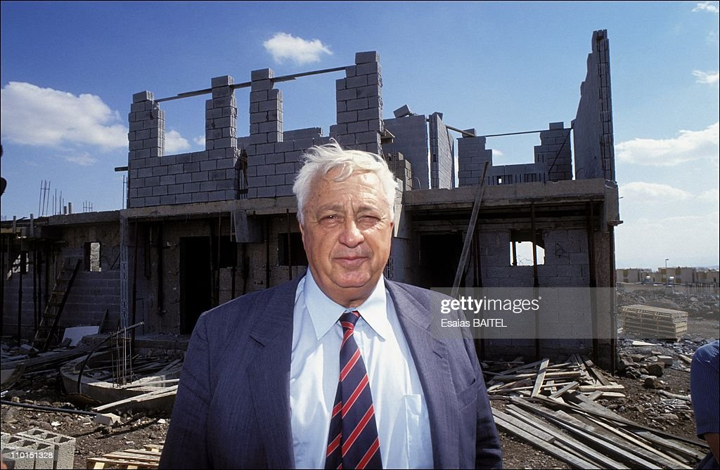 Ariel Sharon who served as Israel's 11th Prime Minister from 2001 to 2006 in Israel in May 1991