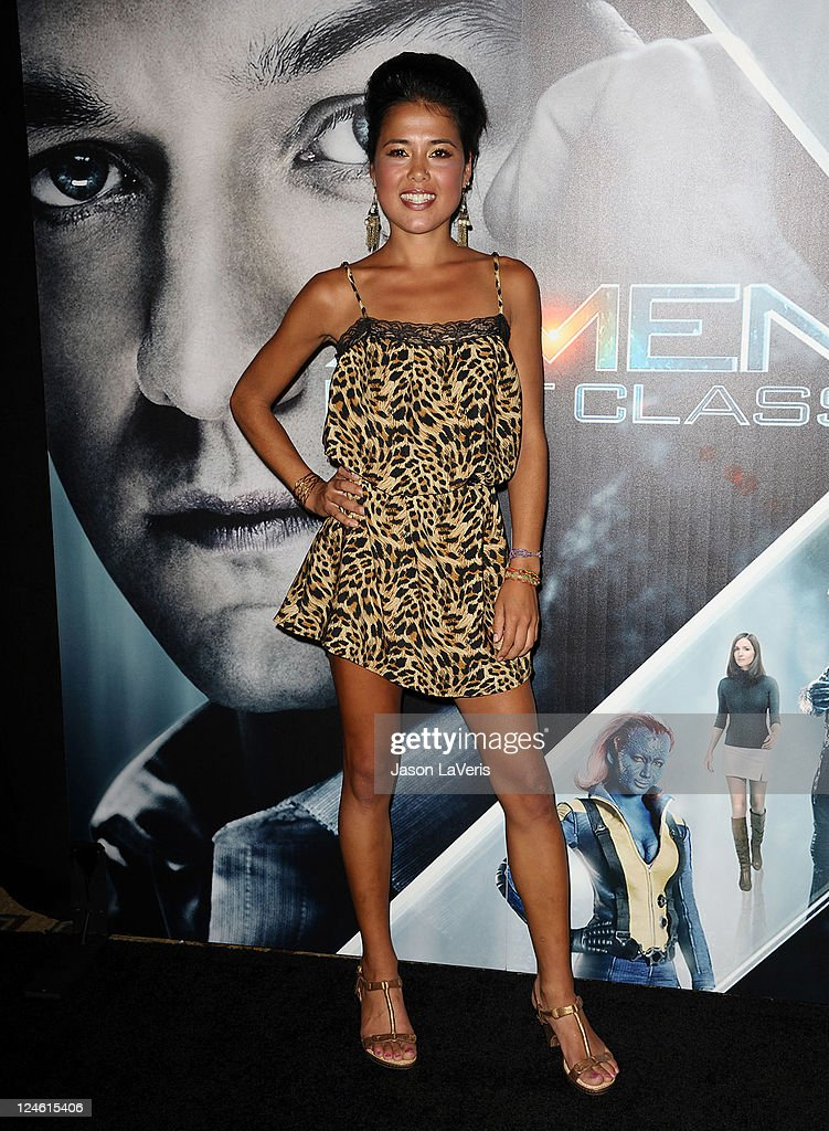 Ariel Tweto attends the 'X-Men: First Class' 3D projection party at The Roosevelt Hotel on September 8, 2011 in Hollywood, California.