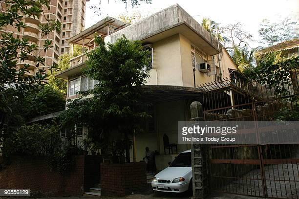 Ariel View of Haji Mastan's bungalow at Peddar Road in Mumbai Maharashtra India