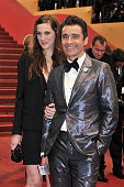 Ariel Wiesmann and guest at the premiere for 'Amour' during the 65th Cannes International Film Festival