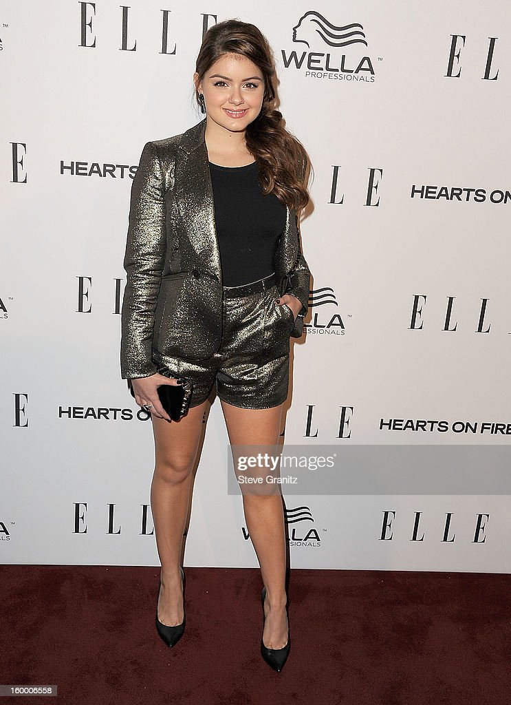 Ariel Winter arrives at the ELLE's 2nd Annual Women In Television Celebratory Dinner at Soho House on January 24, 2013 in West Hollywood, California.