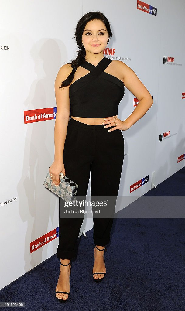 Ariel Winter arrives at the International Women's Media Foundation Courage Awards at the Beverly Wilshire Four Seasons Hotel on October 27 2015 in...