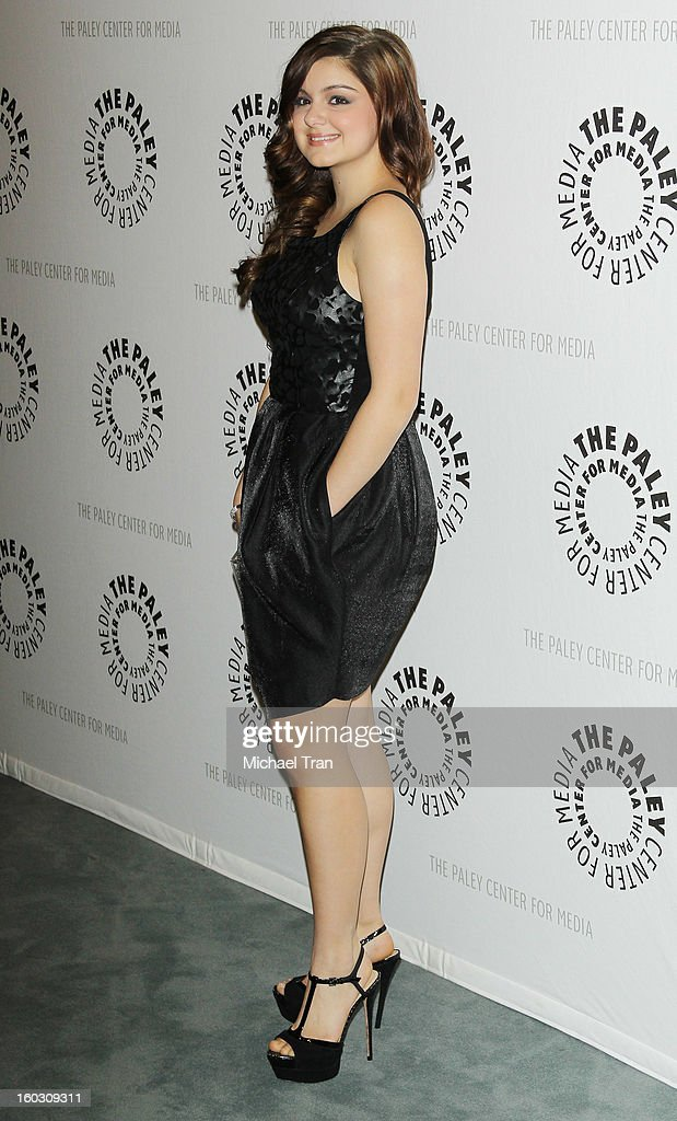 Ariel Winter arrives at The Paley Center for Media and Warner Bros. Home Entertainment host 'Batman: The Dark Knight Returns, Part 2' West Coast premiere held on January 28, 2013 in Beverly Hills, California.