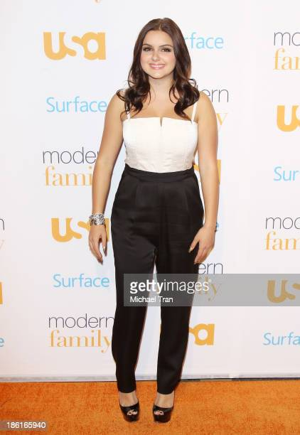Ariel Winter arrives at USA Network Hosts 'Modern Family' fan appreciation day held at Westwood Village Theatre on October 28 2013 in Westwood...