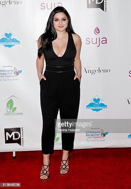 Ariel Winter attends The Dream Builders Project 3rd Annual 'A Brighter Future For Children' Charity Gala at Taglyan Cultural Complex on March 3 2016...