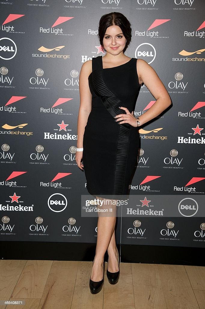 Ariel Winter attends The Grammy Awards Red Light Management After Party at Sky Bar, Mondrian Hotel on January 26, 2014 in West Hollywood, California.