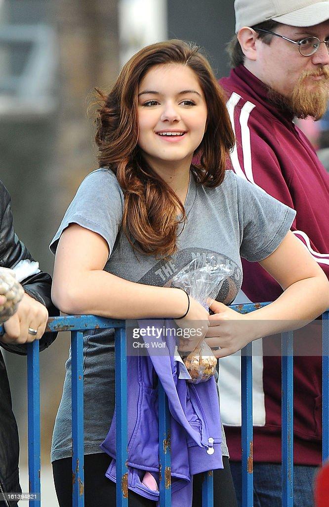 Ariel Winter is seen on February 10, 2013 in Los Angeles, California.