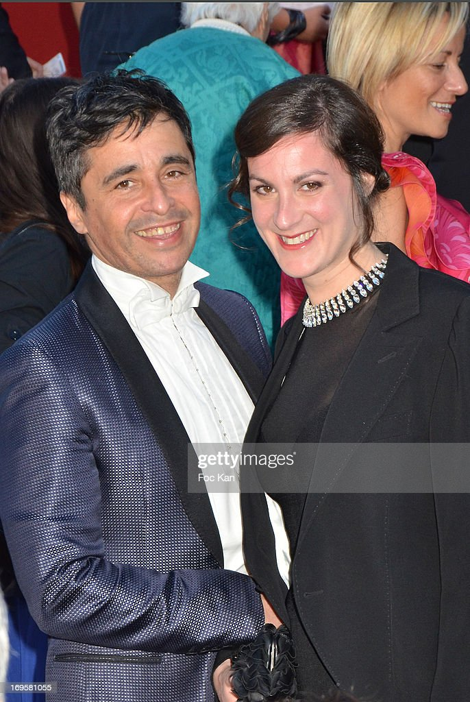 Ariel Wizman and Osnath attend the Premiere of 'Zulu' and the Closing Ceremony of The 66th Annual Cannes Film Festival at Palais des Festivals on May 26, 2013 in Cannes, France.