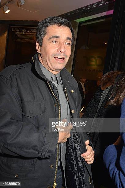 Ariel Wizman attends the Acer Pop Up Store Launch Party at Les Halles on November 20 2014 in Paris France