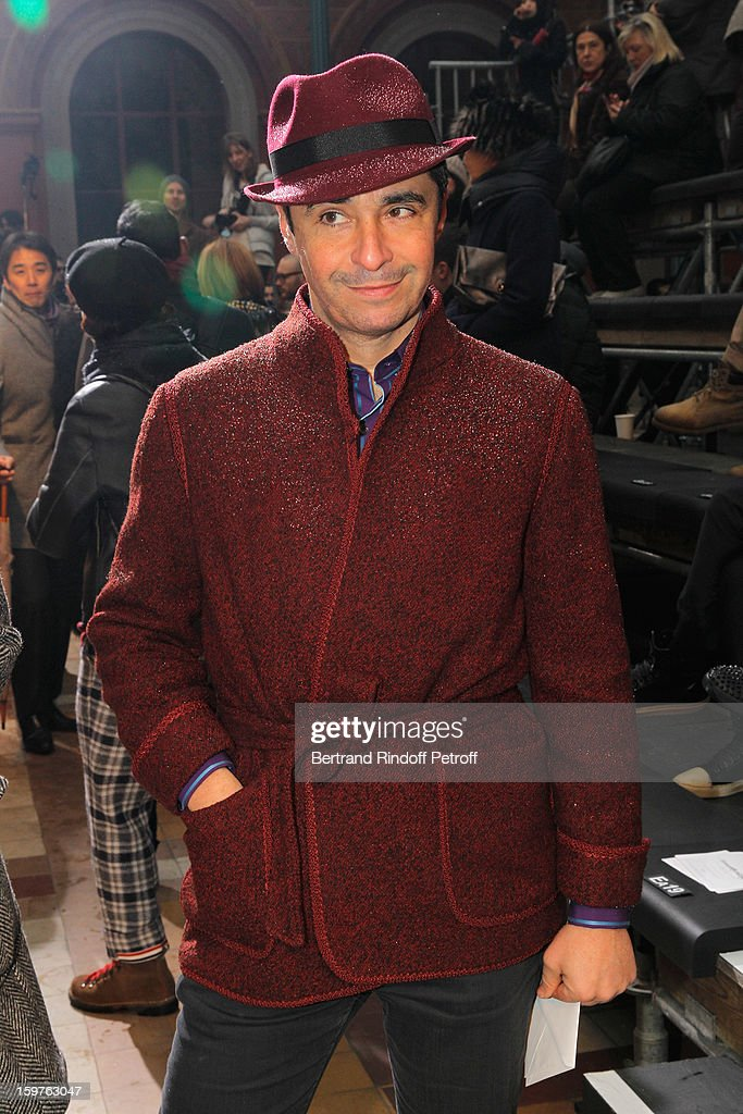 Ariel Wizman attends the Lanvin Men Autumn / Winter 2013 show at Ecole Nationale Superieure Des Beaux-Arts as part of Paris Fashion Week on January 20, 2013 in Paris, France.