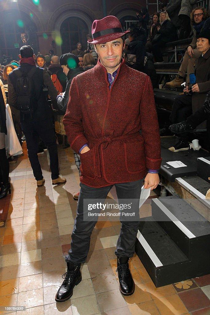 Ariel Wizman attends the Lanvin Men Autumn / Winter 2013 show at Ecole Nationale Superieure Des Beaux-Arts as part of Paris Fashion Week on January 20, 2013 in Paris, France.