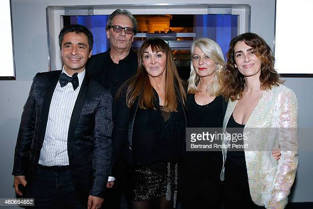 Ariel Wizman Vice President of AEM Laurent Morgenszteam Organizer of the dinner Babeth Djian Laurence Valenci and Mademoiselle Agnes Boulard attend...
