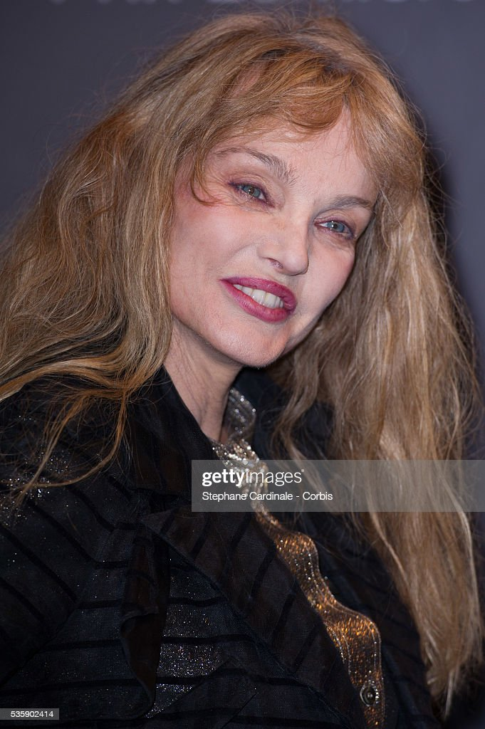 Arielle Dombasle attends the Tribute to Quentin Tarantino, during the 5th Lumiere Film Festival, in Lyon.