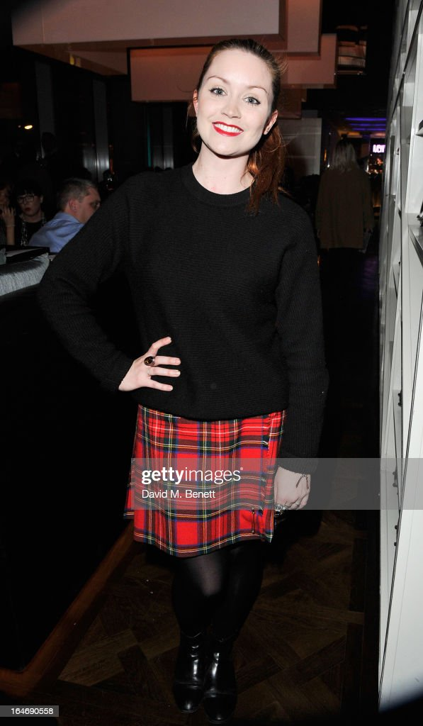 Arielle Free ats W London - Leicester Square for the launch of Gizzi Erskine's remix of the W Rock Tea and her book 'Skinny Weeks and Weekend Feasts' on March 26, 2013 in London, England.