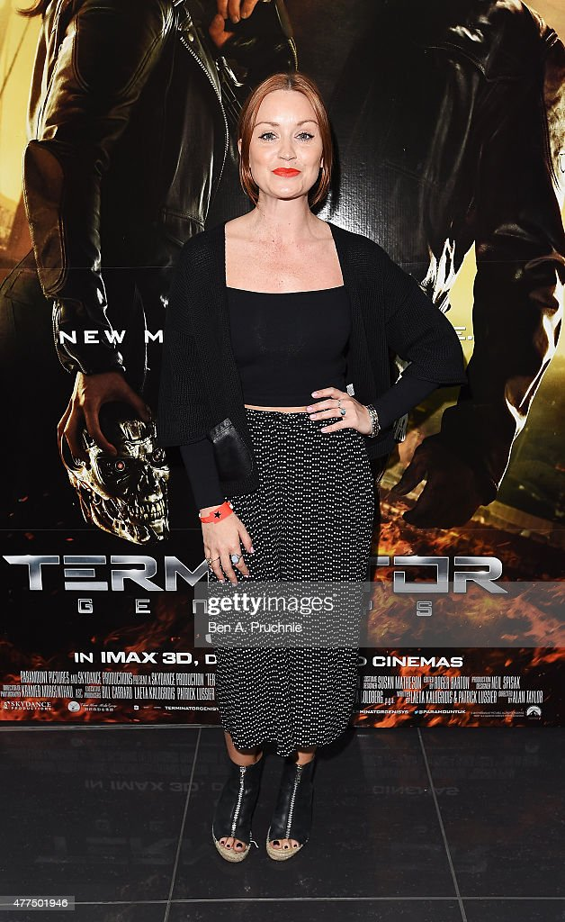 Arielle Free attends the Fan Footage Event of 'Terminator Genisys' at Vue Westfield on June 17, 2015 in London, England.