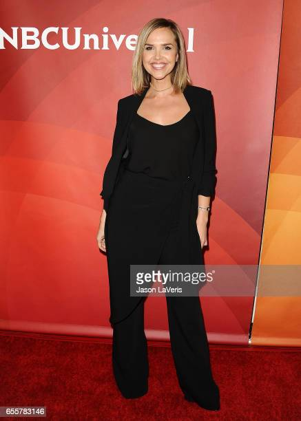 Arielle Kebbel attends the 2017 NBCUniversal summer press day The Beverly Hilton Hotel on March 20 2017 in Beverly Hills California
