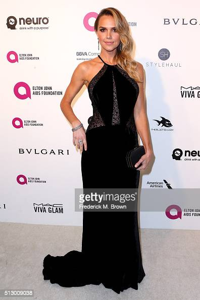 Arielle Kebbel attends the 24th Annual Elton John AIDS Foundation's Oscar Viewing Party on February 28 2016 in West Hollywood California