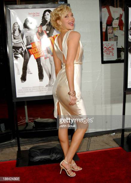 Arielle Kebbel during 'John Tucker Must Die' Los Angeles Premiere Arrivals at Mann's Chinese Theater in Hollywood California United States