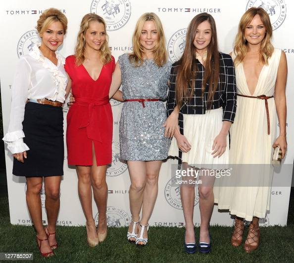 Arielle Kebbel Teresa Palmer Melissa George Hailee Steinfeld and Malin Akerman arrive for Tommy Hilfiger and Lisa Birnbach Celebration of Prep World...