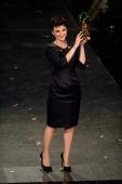 Arisa attends closing night of the 64th Festival di Sanremo 2014 at Teatro Ariston on February 22 2014 in Sanremo Italy
